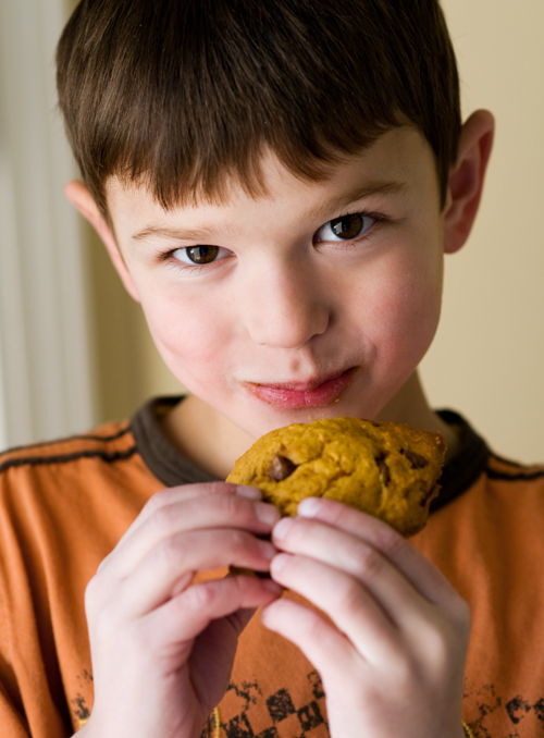 Pumpkin cookie kid blog