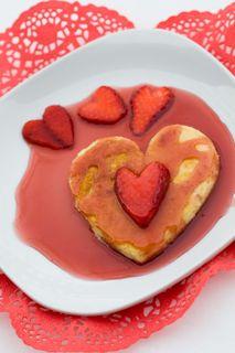 Heart pancake 353