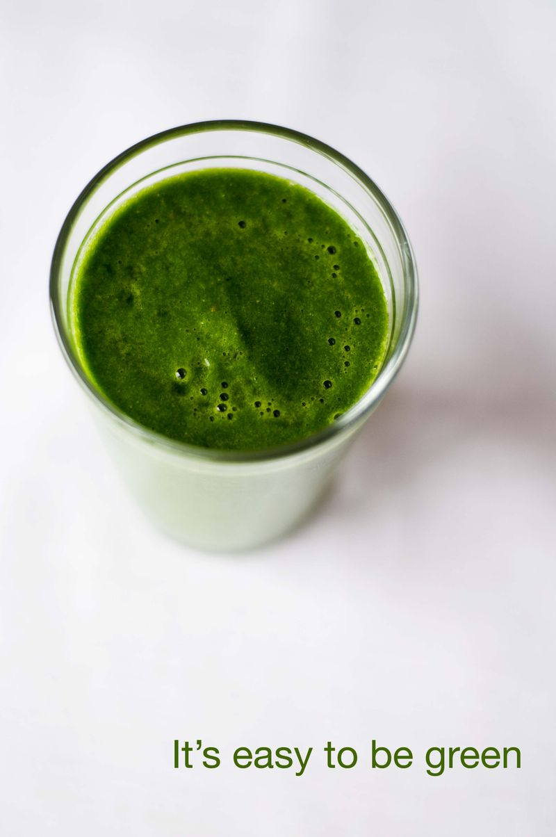 Green smoothie plain