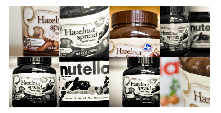 Nutella collage