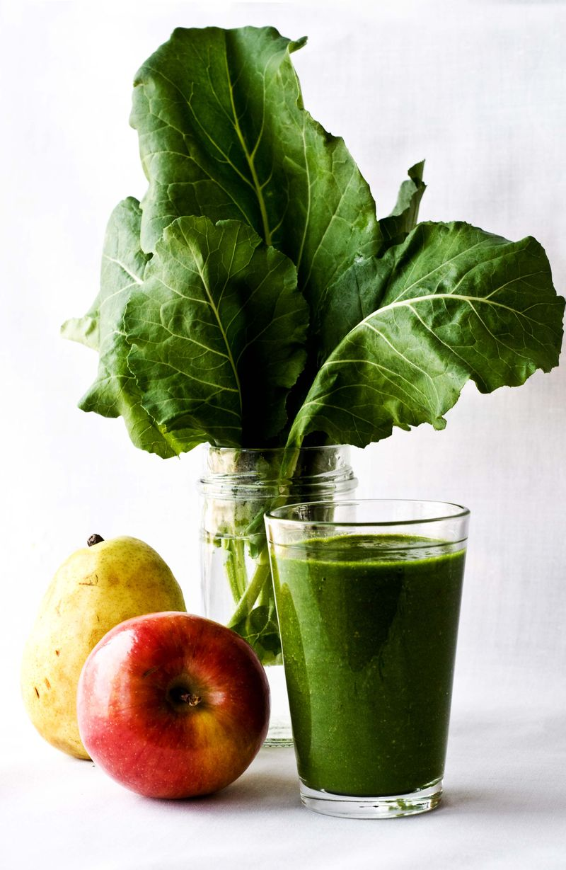 Green smoothie full spread
