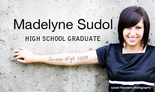 Maddie graduated 2