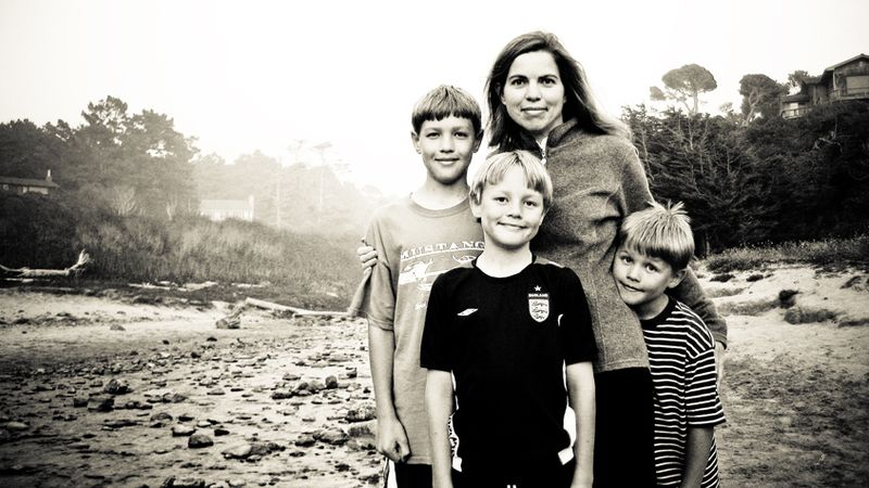 Susan and boys_blog