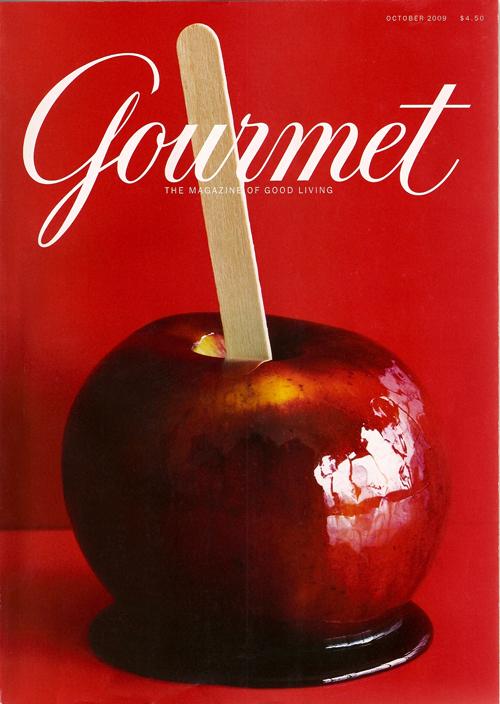 Gourmet cover blog
