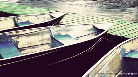 fishing boats at a dock