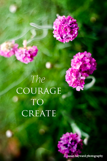 Courage to create_blog